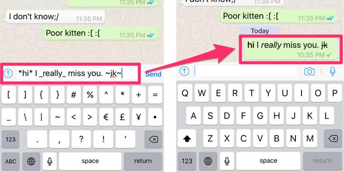 WhatsApp useful tricks